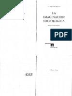 Wrigth Mills C. - La imaginación sociológica.pdf