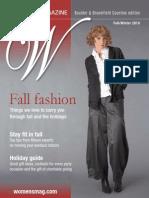 Women's Magazine Fall/Winter 2010 Edition