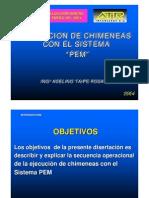 EJECUCION DE CHIMENEAS