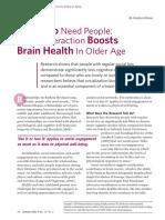 Aging & Brain