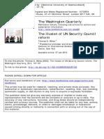 Weiss - UN Security Council Reform
