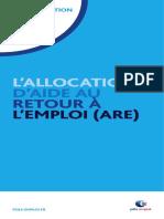 Allocation d'aide retour emploi