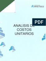 Analisis de Costos - Separador