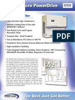 Epson RC180 Controller Brochure (Revision C)