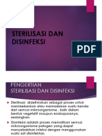 1. Sterilisasi Dan Disinfeksi