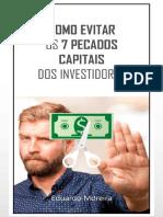 Como Evitar Os 7 Pecados Capitais Dos Investidores