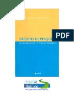 CIRIBELLI, Marilda Corrêai - Projeto de Pesquisa