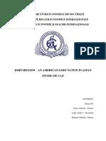 Studiu de Caz 1 - John Higgins - An American Goes Native in Japan
