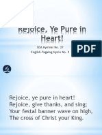 9 - Rejoice, Ye Pure in Heart!