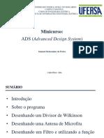 Mini-curso sobre o software ADS
