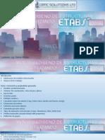 Analisis y Diseno Utilizando Etabs 2016