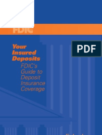 FDIC's Guide to Deposit Insurance Coverage Federal Deposit Insurance Corporation