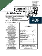 Decreto 1631 año 2018 - Boletín Oficial Misiones