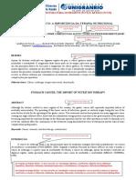 Modelo de Estrutura de Artigo Pós