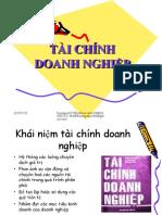 Tai Chinh Doanh Nghiep