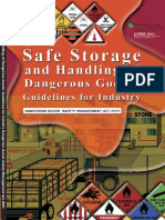 safe storage and handling dangerous goods