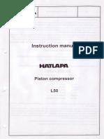 Instruction Manual Air Compresor