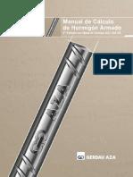 Manual de Calculo de Hormigon Armado AZA_calculo_2006