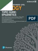 Biology Topic Guide Epigenetics
