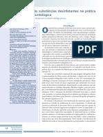 Eficacia de 3 Sustancias Rayosx