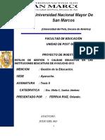 Proyecto de Investigación-2014