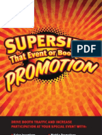 SCA Promotions - Event Booklet