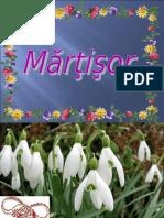 1 Martie Martisor Cu Flori de Primavara