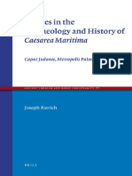 (Ancient Judaism and Early Christianity Volume 77) Joseph Patrich - Studies in the Archaeology and History of Caesarea Maritima_ Caput Judaeae, Metropolis Palaestinae (Ancient Judaism and Early Christ