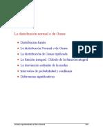 Distribución Normal / Gauss