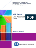 [Bookflare.net] - MS Excel Let's Advance to the Next Level