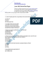 FIA Assistant Director 2012 Solved Past Paper in PDF