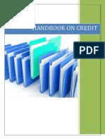 Handbook of credit