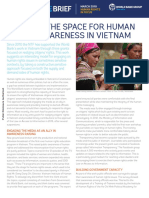 World Bank- Growing the Space for Human Rights Awareness in Vietnam