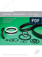 Hydraulic Sealing Products - Size Charts