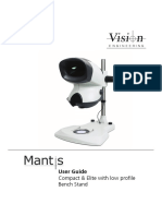 Mantis Family Low-Profile Bench Stand User Guide v1.1 Multi-Language LIT5056