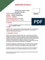 LABORATORIO6 de SUELO1 .. Clasificacion de Suelo