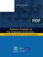 Políticas e Avaliação da Pós-Graduação stricto sensu