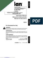Poulan 3816 Owners Manual