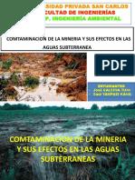 contaminacion subterranea minera.pptx