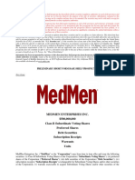 MedMen Shelf Prospectus