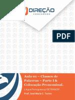 Portuguêspagentedo Detransp Aula 1