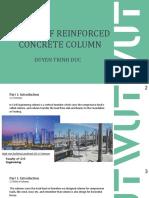 Design of reinforced concrete column
