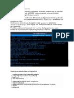 Configuracion de Postgresql linux