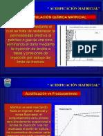 Acidificacion Matricial