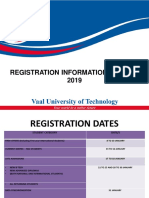 2019 Registration Information, uploaded by SASCO VUT