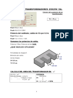 Calculo Transformador Tap-cen