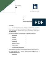 formulario para memorandum impuestos nacionales.bo