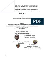 final report for launching and training program in sierra leone compressed