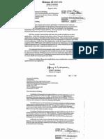 CPI California Letters to Congress