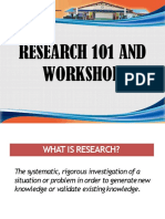 6. Types of Research